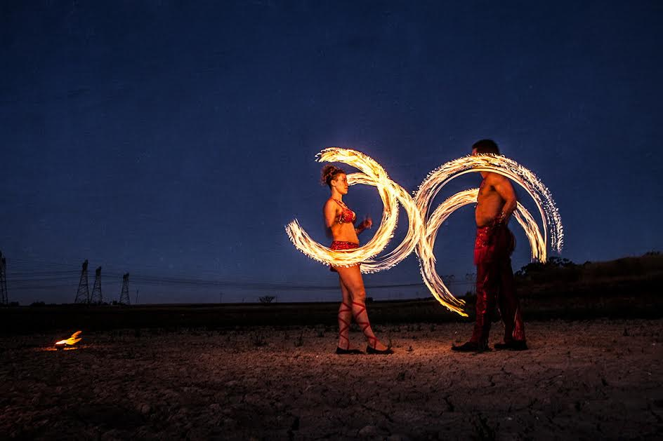 Lanel and Marvin, Fire duet